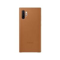 Ốp lưng Galaxy Note 10 Plus Leather cover da thật 100%