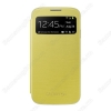 Bao da S-View Cover cho Samsung Galaxy S4 i9500 Yellow