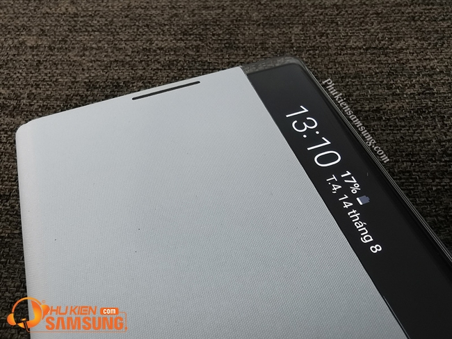 Bao da clear view cover Galaxy Note 10 131