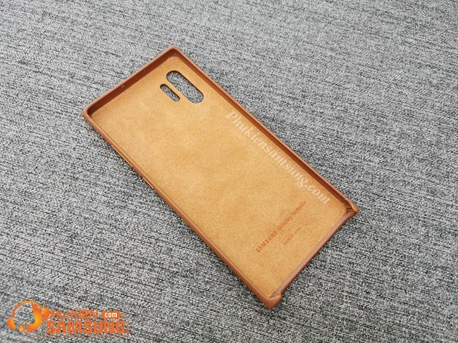 op lung galaxy note 10 plus Leather Cover da dep 2