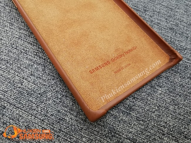 op lung galaxy note 10 plus Leather Cover da dep 3