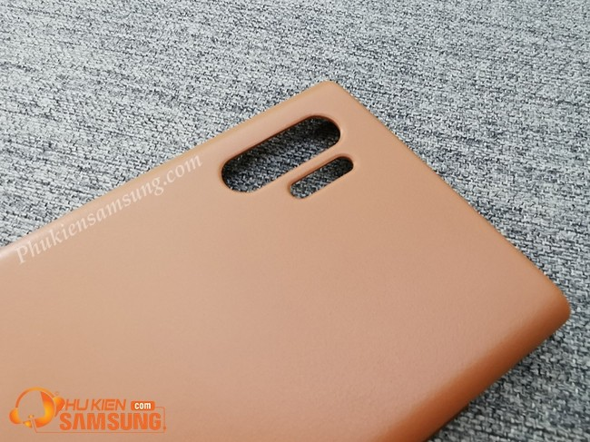 op lung galaxy note 10 plus Leather Cover da dep 4