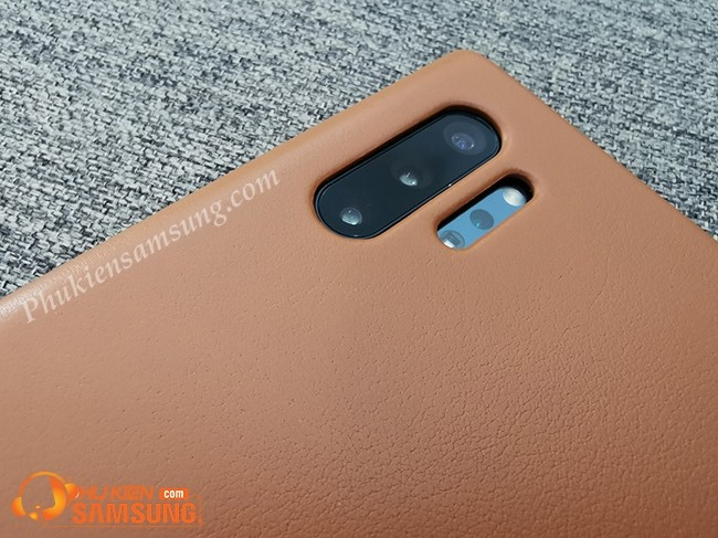 op lung galaxy note 10 plus Leather Cover da dep 8
