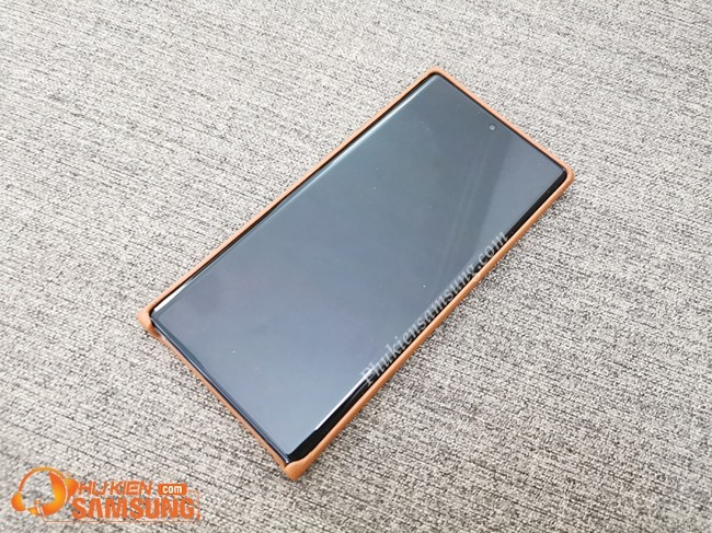 op lung galaxy note 10 plus Leather Cover da dep 9