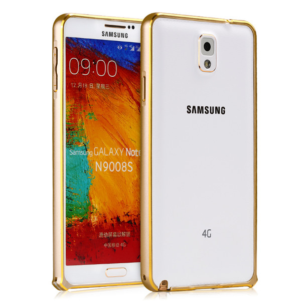 Ốp viền Galaxy Note 3 màu gold