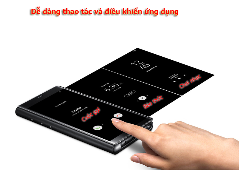 Bao da Clear View Galaxy Note 8 08