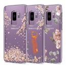 Ốp lưng Galaxy S9 Spigen Liquid Crystal Blossom