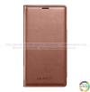 Bao da Galaxy S5 S View Cover - Brown chính hãng của Samsung