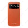 Bao da S-View Cover cho Samsung Galaxy S4 i9500 Orange