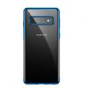 Ốp lưng trong suốt Samsung S10 hiệu Baseus viền màu đẹp